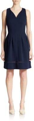 Taylor Knit Fit-and-Flare Dress