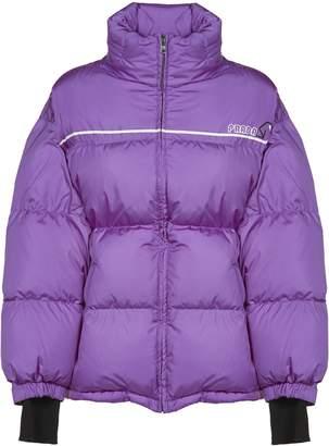Prada Linea Rossa Wrap-front Padded Jacket