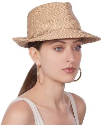 Eric Javits Luxury Fashion Designer Women's Headwear Hat - Mustique