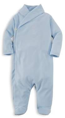 Ralph Lauren Boys' Shawl Collar Footie - Baby