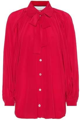 Gucci Silk crêpe de chine blouse