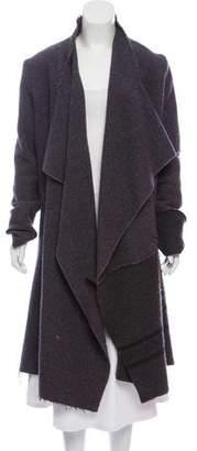Greg Lauren Open Wool Coat