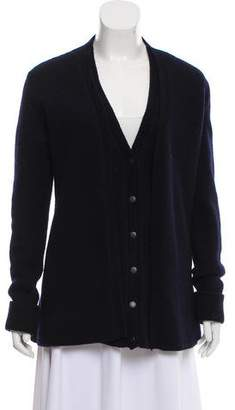 Balenciaga Wool Cape Cardigan