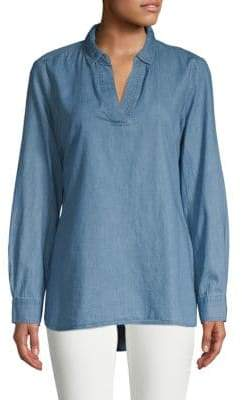 Classic Denim Popover Shirt