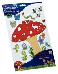 S.t.a.m.p.s. The Irish Fairy Door Company Stickers - Toadstool Decal