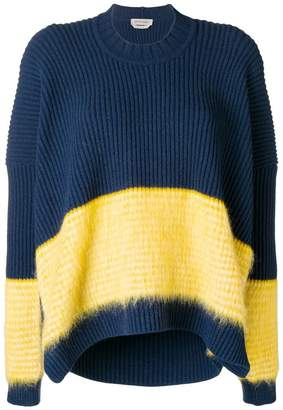 Sportmax block stripe sweater