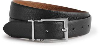 Reiss Our last order date for Christmas has now passed REX REVERSIBLE LEATHER BELT Black/tan