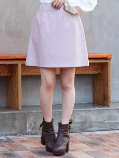 dazzlin (ダズリン) - 【sw】ギンガムチェックミニ台形スカート