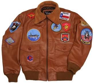 4e0b490cdb4 Top Gun Leather Marvel Men Navy Air Force Flight Aviator Bomber Fur Collar Leather  Jacket