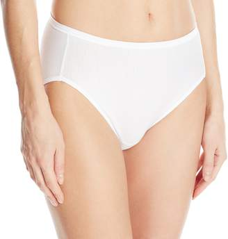 Vanity Fair Women's Illumination Cotton Hi-Cut Panty 13315