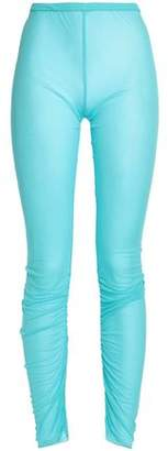 Emilio Pucci Ruched Jersey Leggings