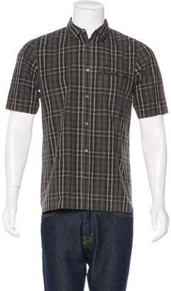 Undercover Plaid Short Sleeve Shirt