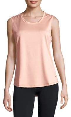 Copper Fit Pro Hi-Lo Perforated Tank Top