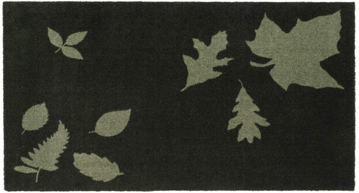 tica copenhagen - Leaf Mega Fußmatte, 67 x 120 cm, Grün