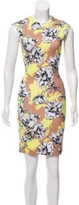 Torn By Ronny Kobo Sleeveless Mini Floral Dress