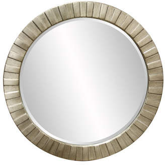 Zipcode Design Cala Round Faux Marble Mirror