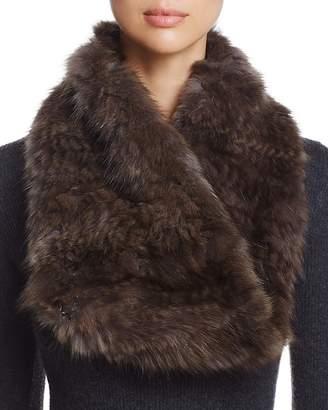 Maximilian Furs Sable Fur Knit Scarf - 100% Exclusive