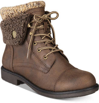 White Mountain Cliffs by Decker Lace-Up Booties