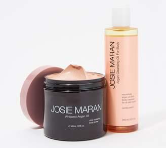 Josie Maran Illuminizing Body Butter & Cleansing Body Oil Set