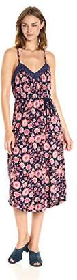 Lucky Brand Women's Floral Knit Midi