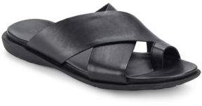 Kenneth Cole New York Leather Slide Sandals