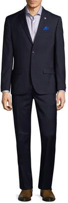 Ben Sherman Solid Pocket Wool Suit