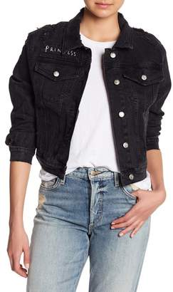 Joe's Jeans Cropped Denim Jacket