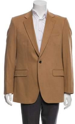 Dolce & Gabbana Camel Hair Button-Up Jacket