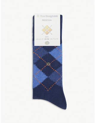 Burlington Preston Argyle socks