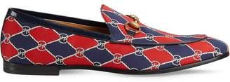 Gucci Rhombus print loafer