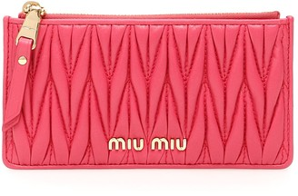 Miu Miu Nappa Cardholder
