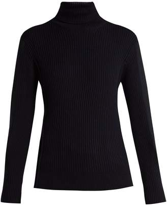 Chloé Roll-neck ribbed-wool sweater