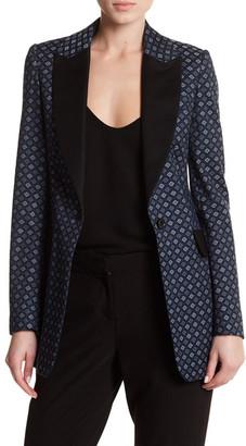 Karen Millen Casual Tuxedo Jacket $450 thestylecure.com