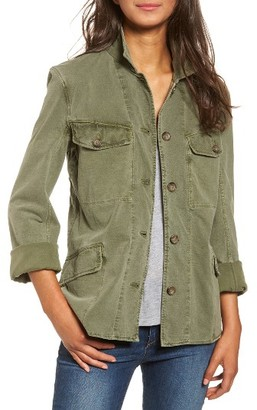 Women's James Perse Utility Jacket $395 thestylecure.com