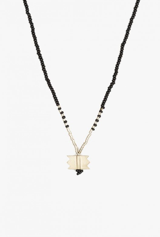 Crow Five Cacti Long Necklace