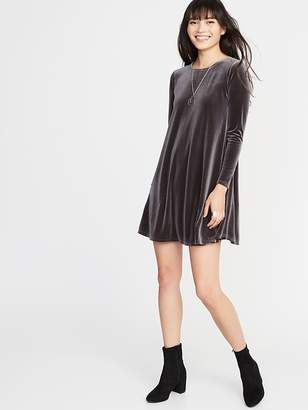 Old Navy Velvet Swing Dress for Women