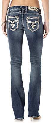 Rock Revival Women's Jaylyn B402 Boot Cut Jeans