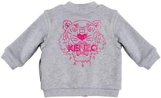 Kenzo Reversible Zip-Up Cotton Sweatshirt