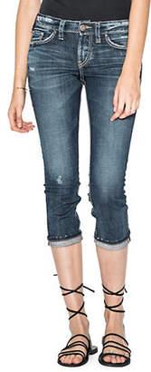Silver Jeans Elyse Denim Capri Jeans