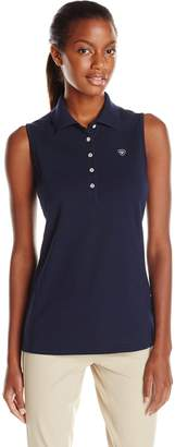 Ariat Women's Prix Short Sleeve Polo