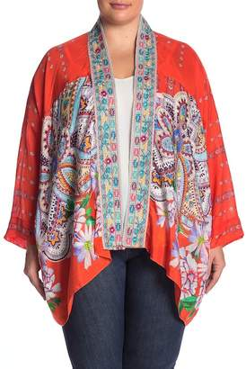 Johnny Was Summer Paisley Kimono (Plus Size)