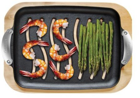 Cuisinart Grilling Platter with Wood Serving Tray