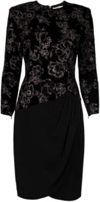 Pierre Balmain Velvet Sparkle Dress
