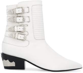 Toga Pulla buckled Western boots