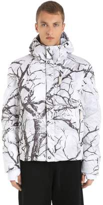Oversized Strato K2 Camo Down Jacket
