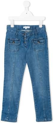 Chloé Kids button-up jeans