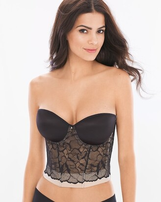 cbbbab818 Front Closure Longline Bra - ShopStyle Canada