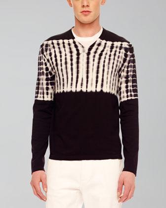 Michael Kors Tie-Dye Knit Sweater