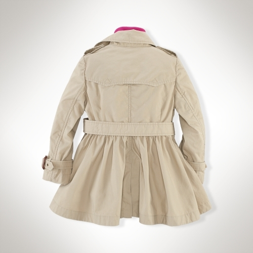 Classic Full-Skirt Trench