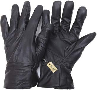 FLOSO Mens Genuine Leather Gloves (M/L)
